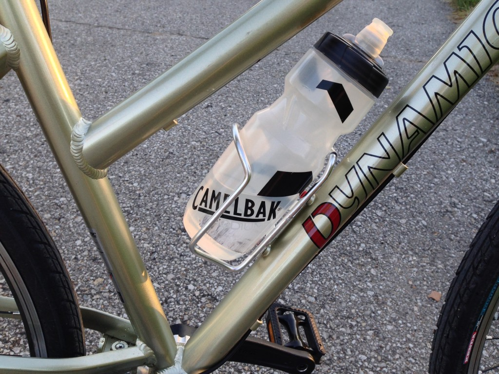 The Easy Step frame can mount one bottle cage.